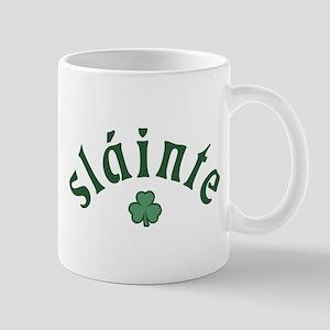 Slainte [shamrock] Mug